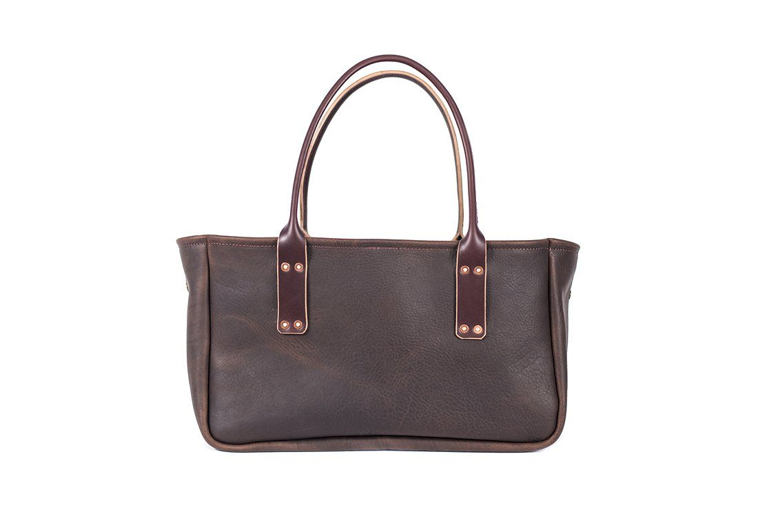 OLIVIA LEATHER TOTE BAG