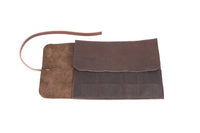 LEATHER TOOL ROLL / PIPE ROLL