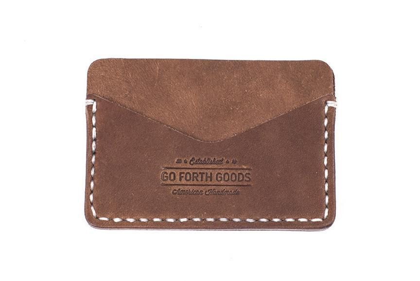 ROSS LEATHER CARD WALLET