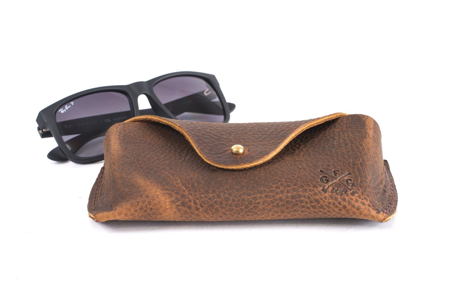 44814595ab8 LEATHER SUNGLASS CASE - Go Forth Goods