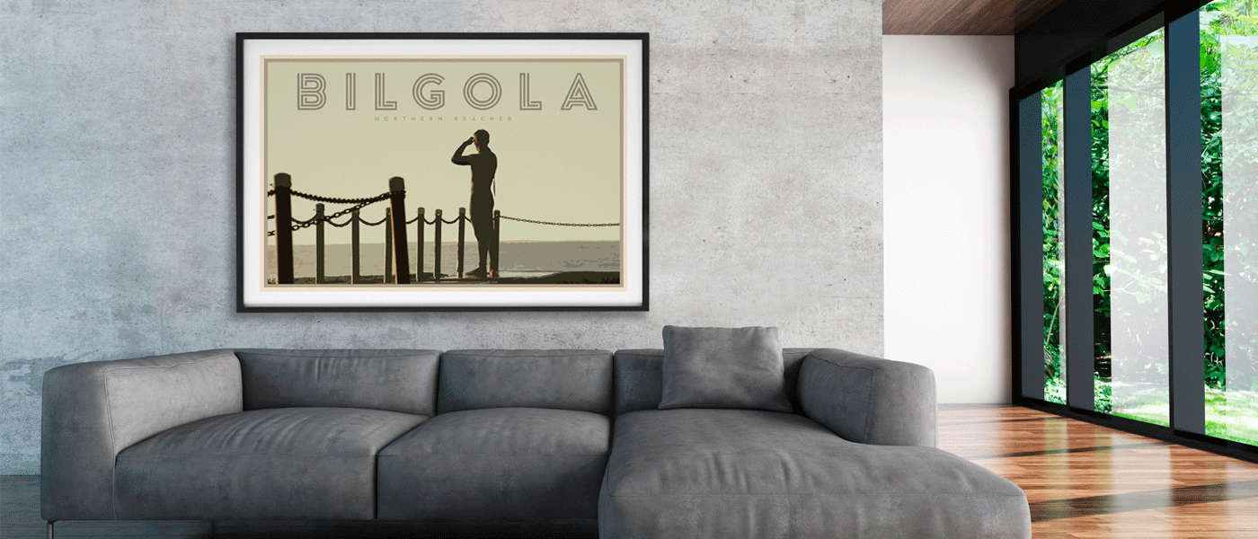 Bilgola Beach fine art print by Places We Luv