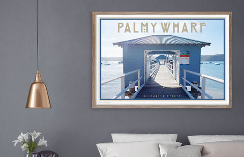 Placesweluv affordable art prints - Palm Beach print