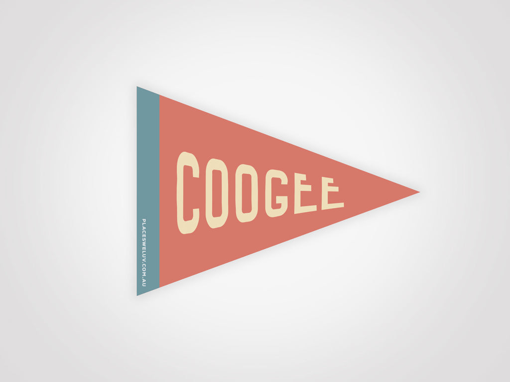 Coogee travel flag decal