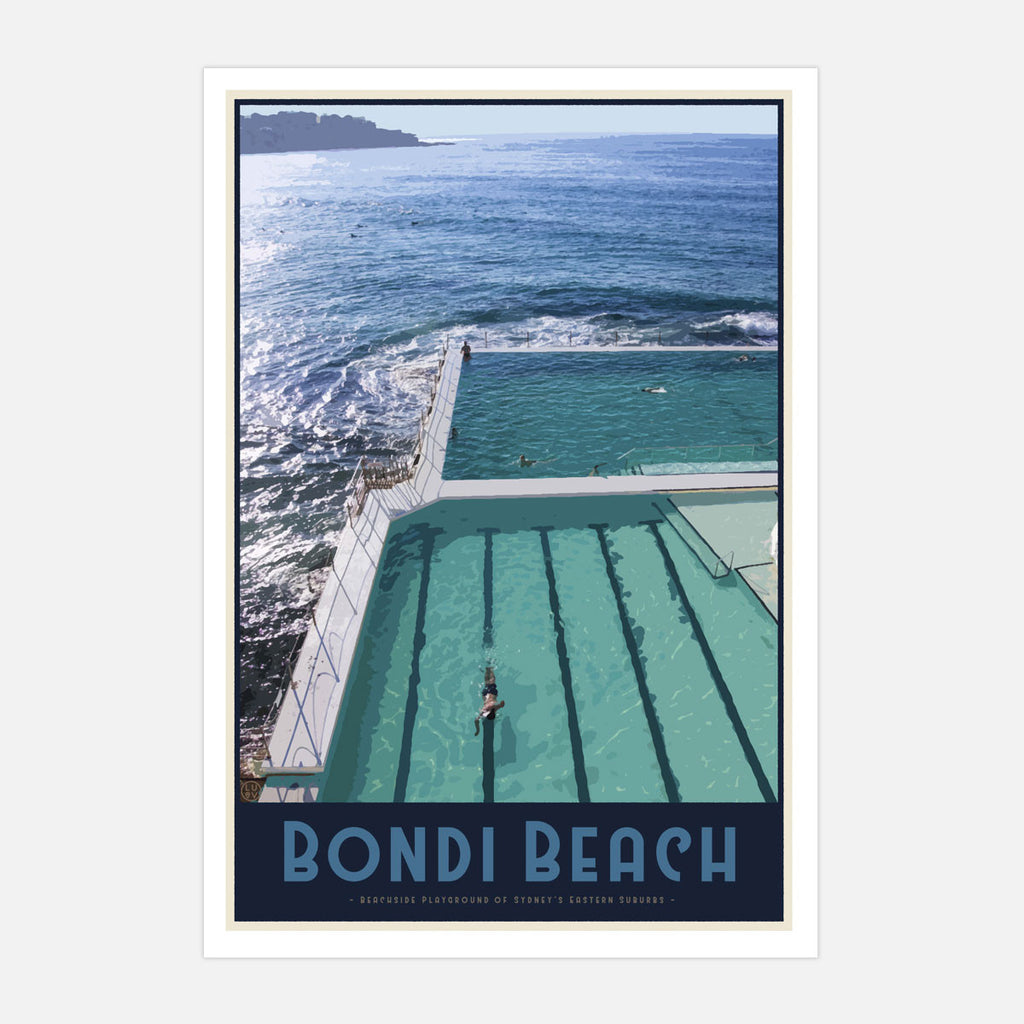 Bondi Beach Pool Print - Places We Luv