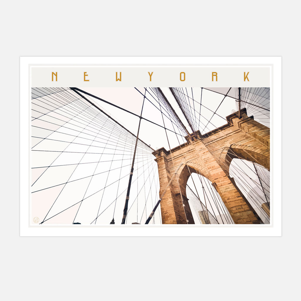 New York Brooklyn Print