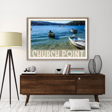 Church Point - wall art prints by places we luv