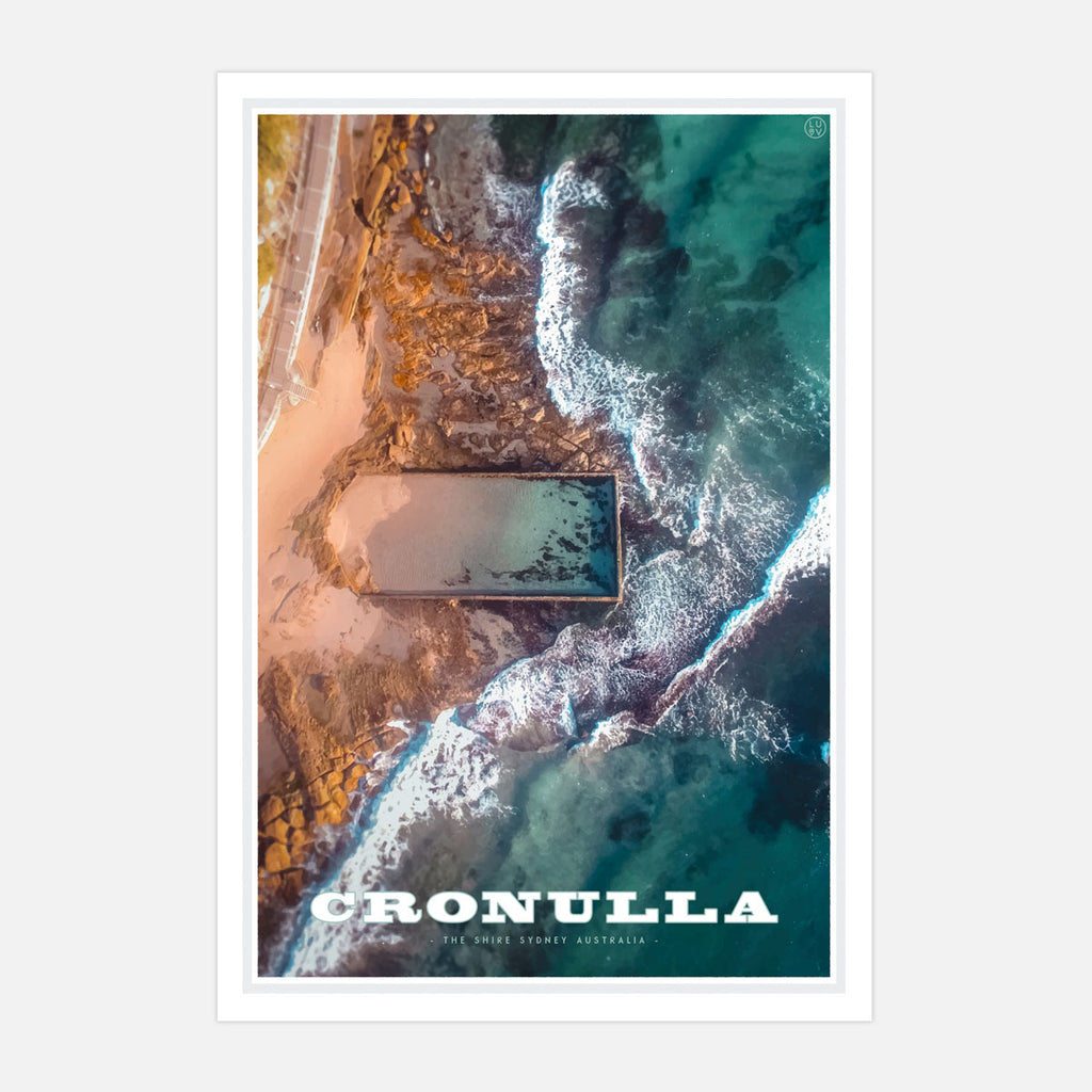 Cronulla Pool print travel style by places we luv