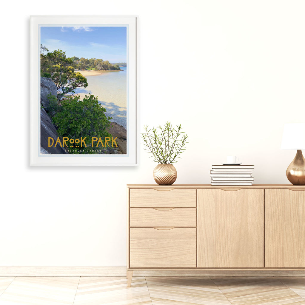 Cronulla Darook Park framed print travel style by places we luv