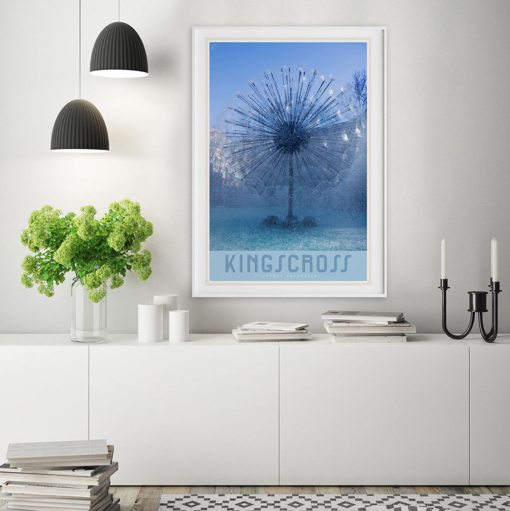 Kings cross print by places we luv