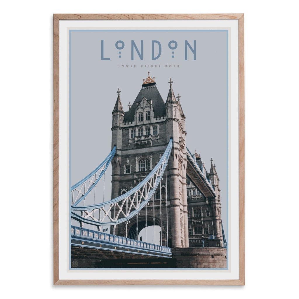 London Tower Bridge Print