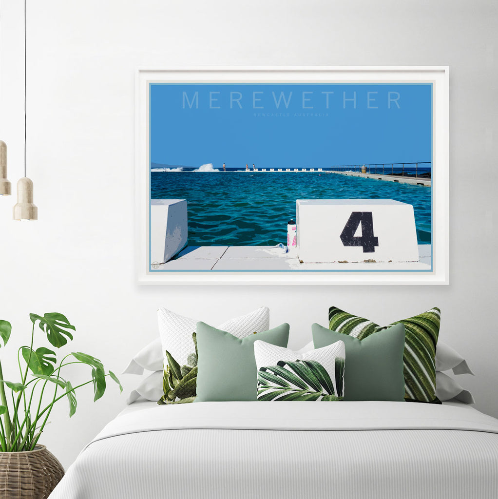 Merewether beach print travel style by places we luv