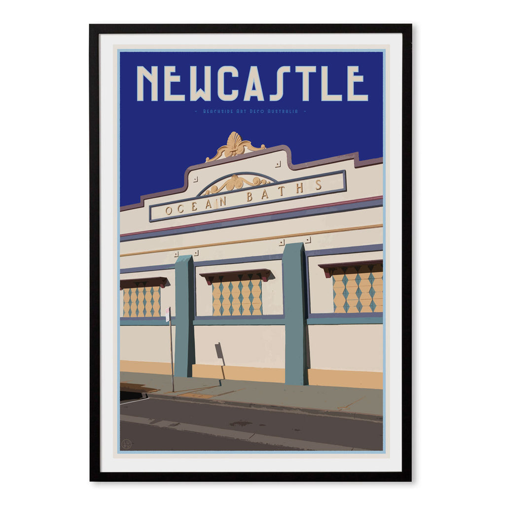 Newcastle Baths Print