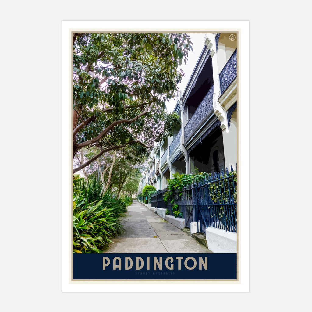 Paddington Travel Print