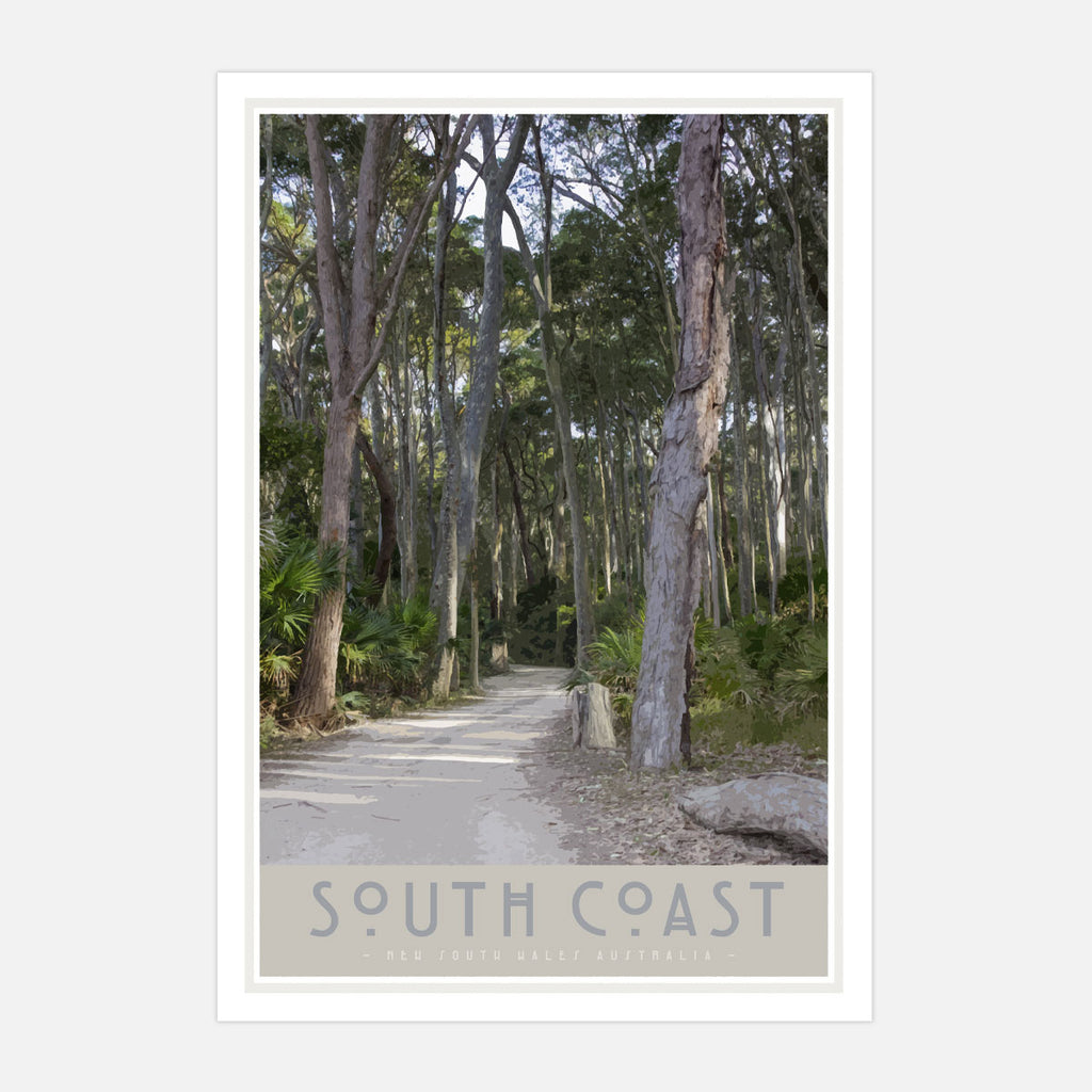 South Coast #2 print. Original design by places we luv