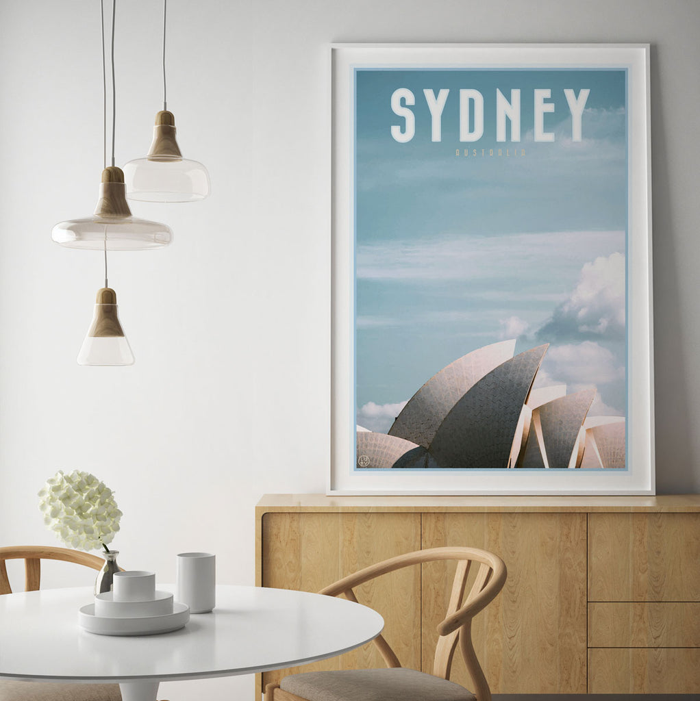 Sydney Sails framed wall art by places we luv