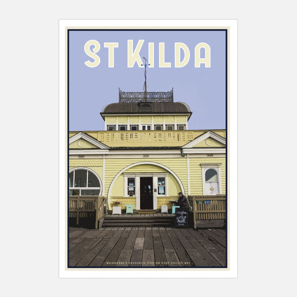 St Kilda Pier Print - Places We Luv