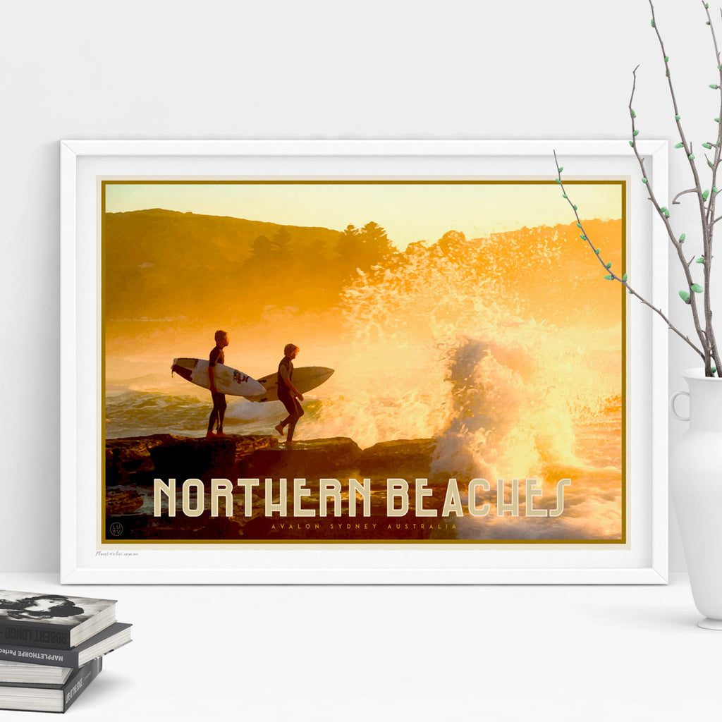 Northern Beaches Sydney vintage travel style by placesweluv