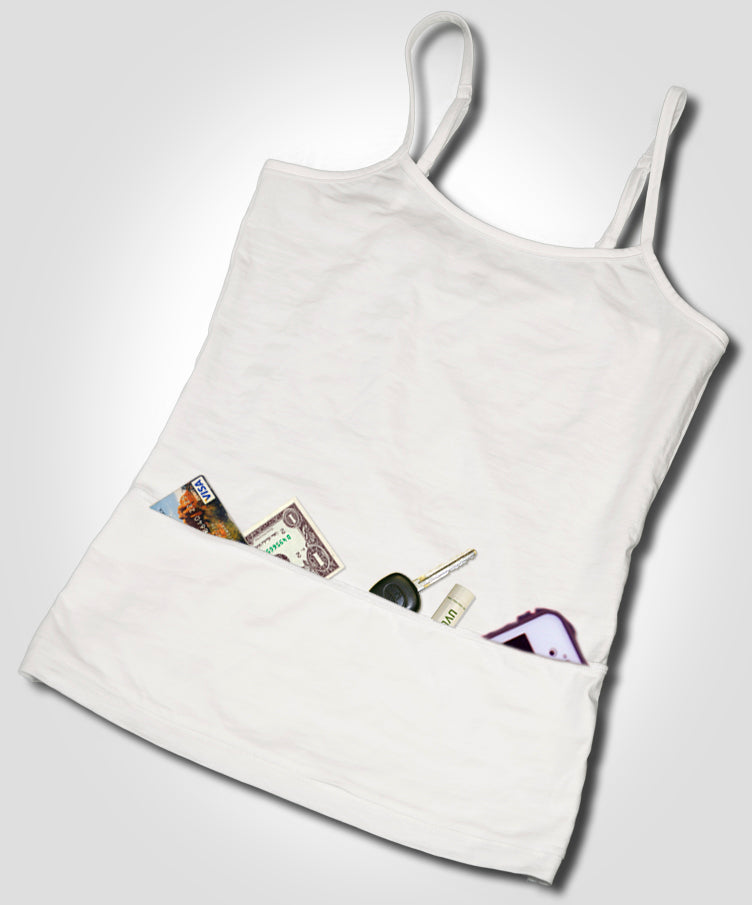 The Basic Essential Cari-Cami®-The Camisole With Pockets