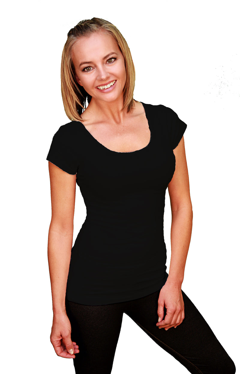 The Cap-Sleeve Cari-Cami®-The Camisole With Pockets