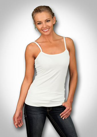 The Basic Essential Cari-Cami™ - The Camisole with Pockets with Insulin Pump Option