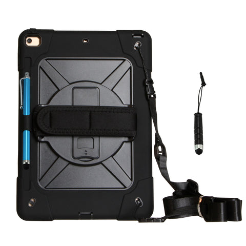 Cellular360 iPad 8th Gen. iPad 7th Gen. 10.2 Case with Pencil Holder and Shoulder Strap