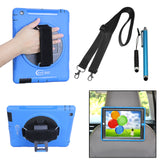Cellular360 Apple iPad 2/3/4 Case with Handl and Shoulder Strap