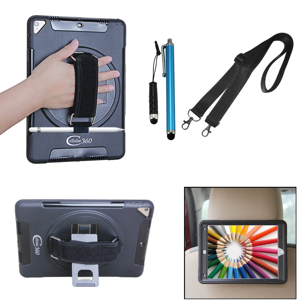best website 914cd c0a9a Cellular360 iPad Pro 11 Case with Pencil Holder and Shoulder Strap