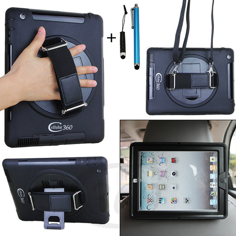 iPad 2/3/4 Multifuntional Headrest Mount Case