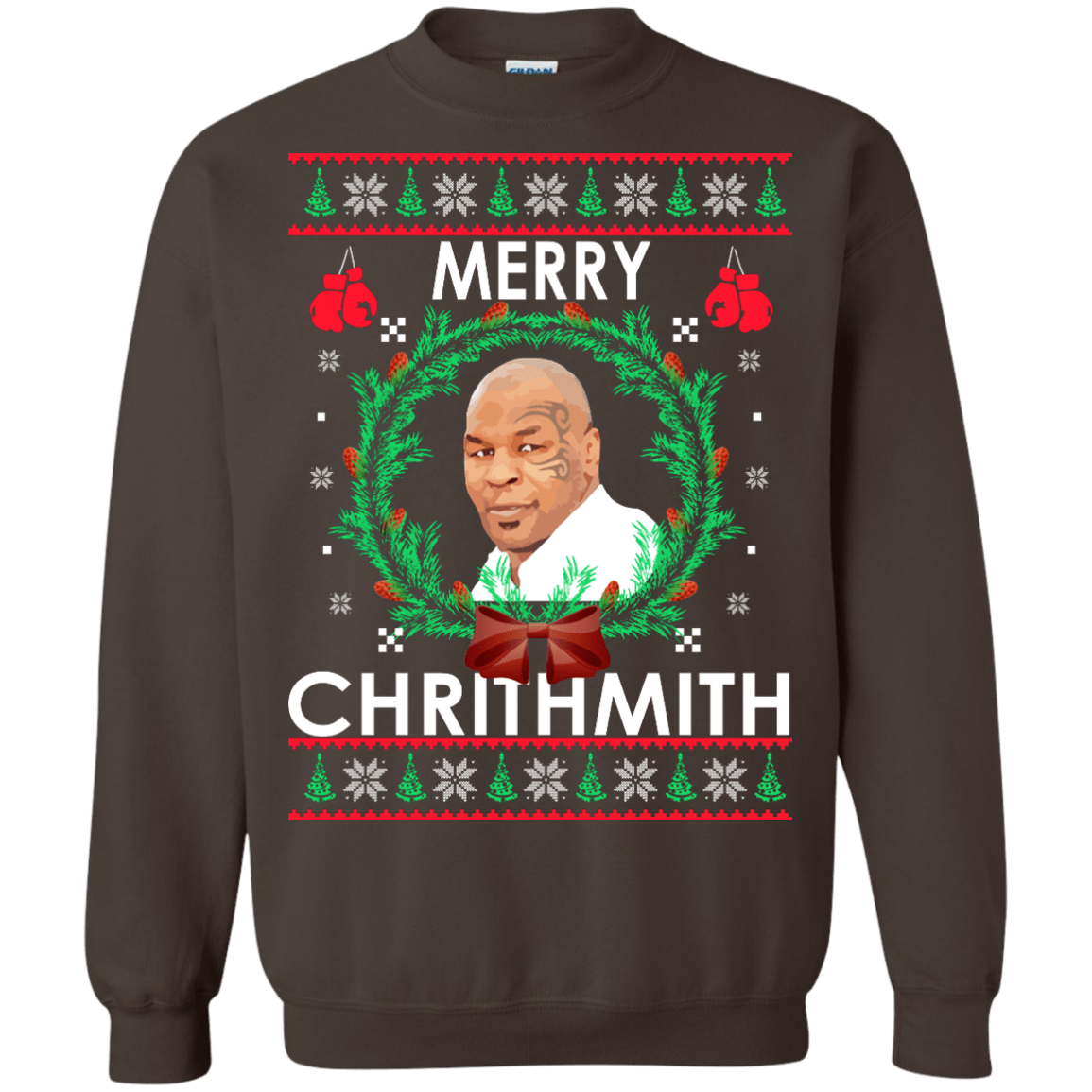 Mike Tyson Merry Chrithmith Christmas Sweater Shirt Hoodie
