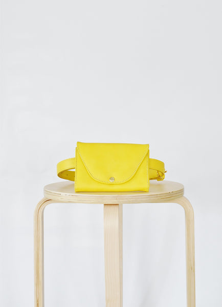 Belt Bag, Yellow