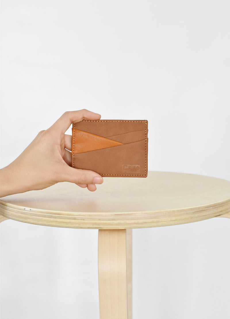 Bicolor Card Holder