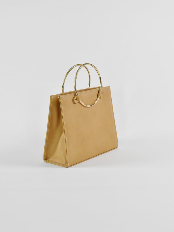 Ring Tote, Tan