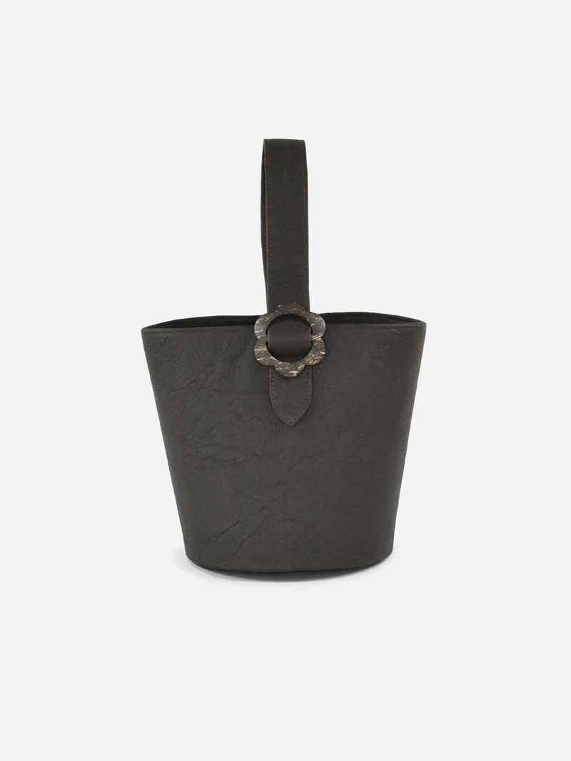 Flower Bucket, Dark Brown