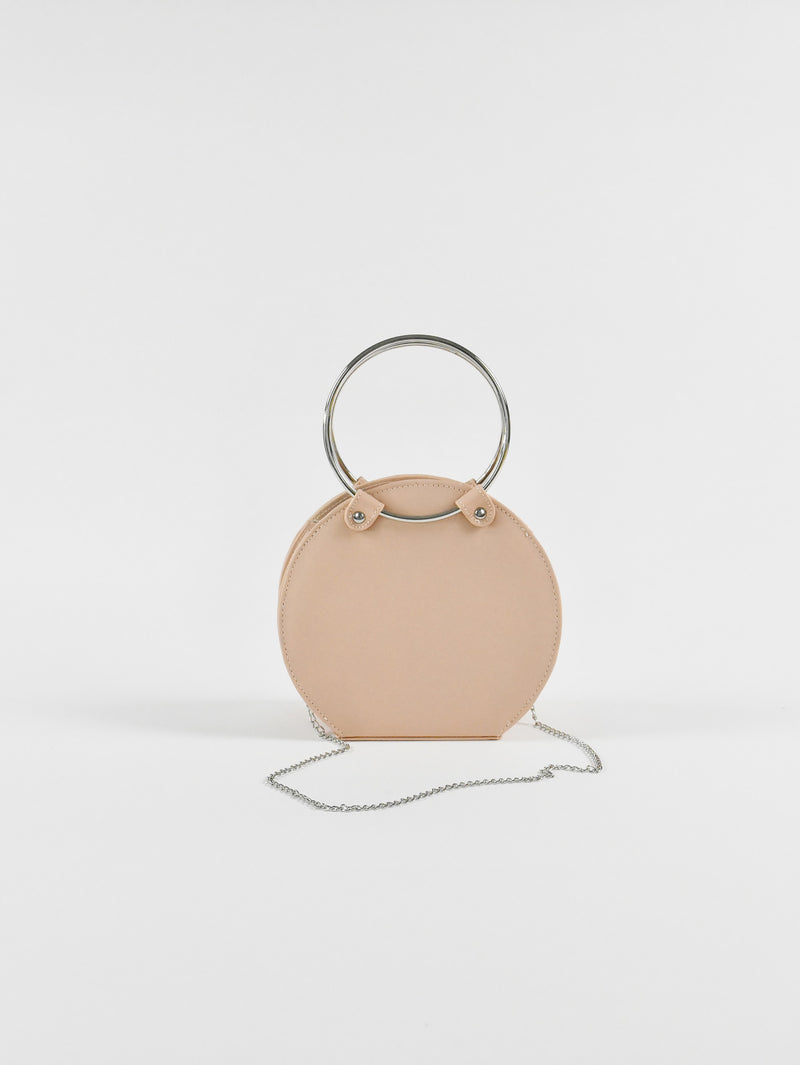 Mini Circle Ring, Blush
