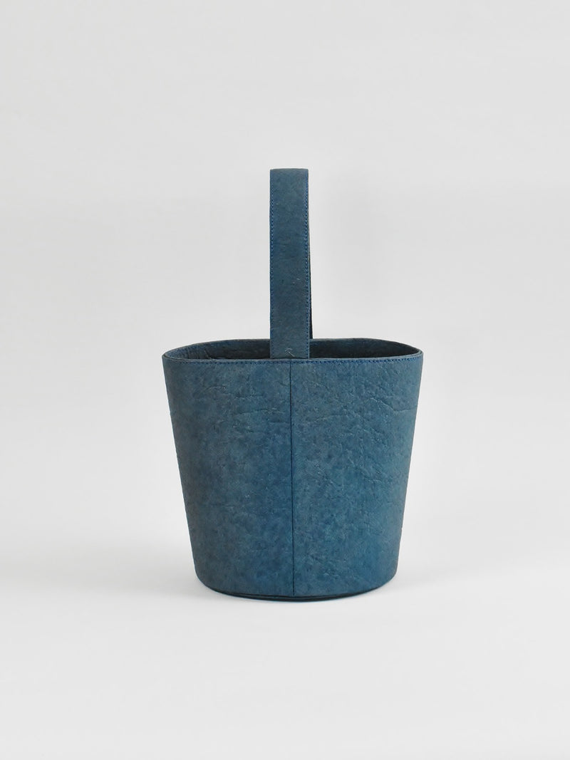 Flower Bucket, Indigo