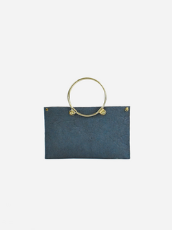 Ring Clutch, Indigo