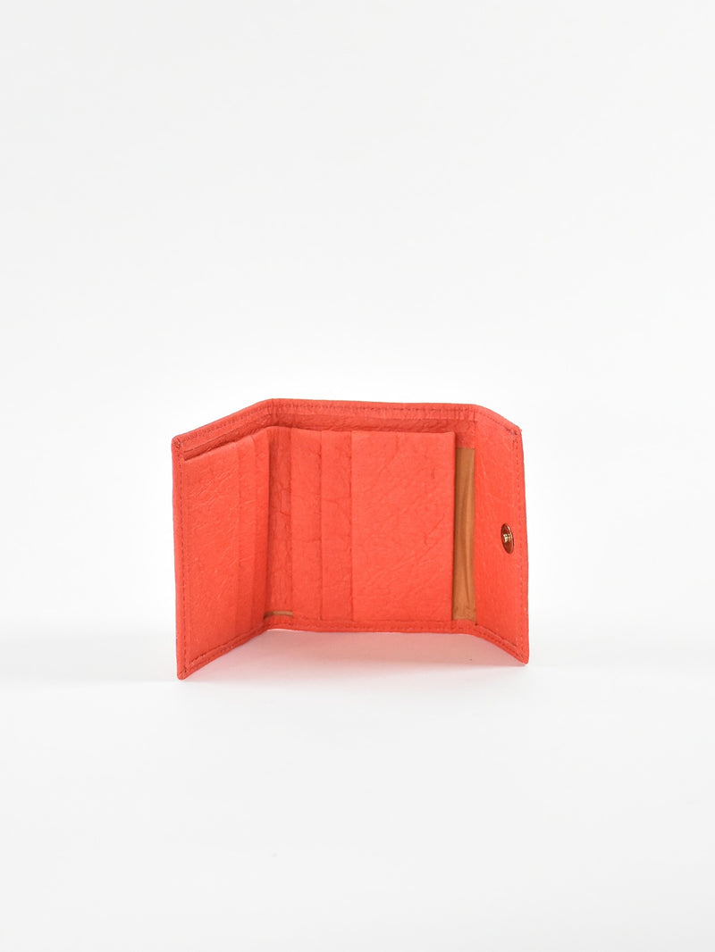 Piñatex Small Wallet, Paprika