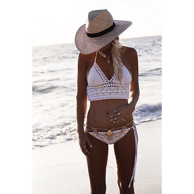 Gold Gypsy Belly Chain Boho Bikini Belt Three Tiered Bohemian Waist Chain Great For Festivals & Beach!