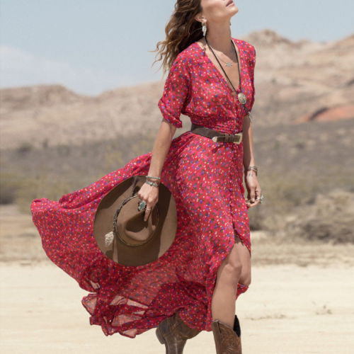 Ramblin Rose Maxi Dress