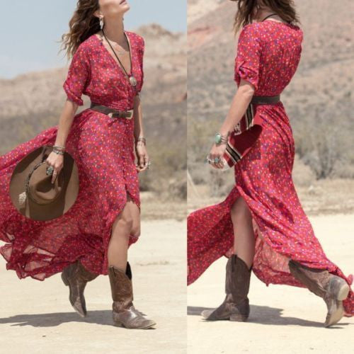 Rambling Rose Maxi