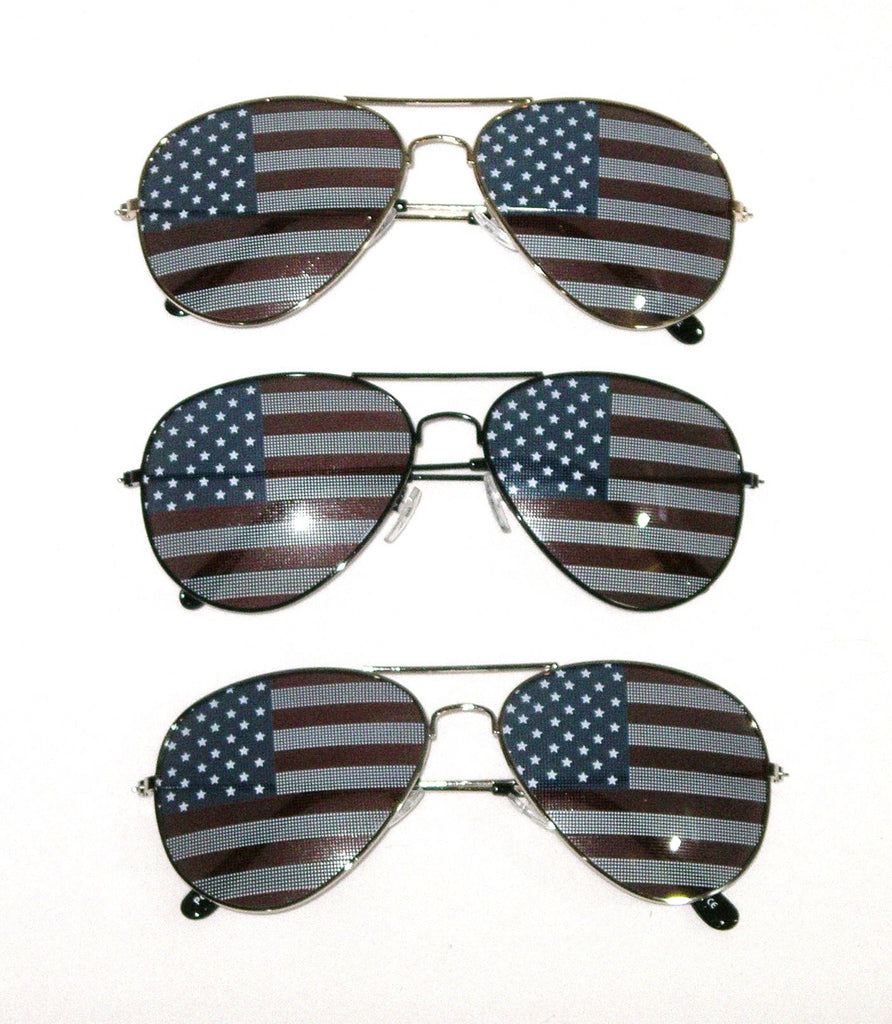 5486a4dff6ff ... USA Flag Aviator Sunglasses American Black Silver Or Gold Frames  Available Vintage Hippy Sunnies Red White ...