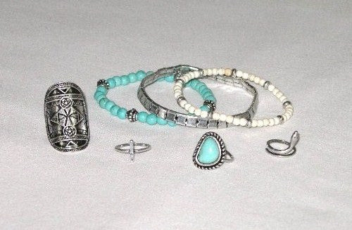 Stacking Turquoise Rings