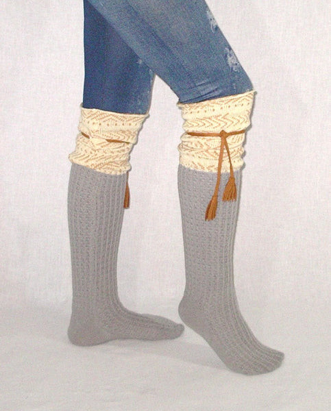 Tassel Top Boot Socks