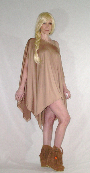 Light Brown Poncho