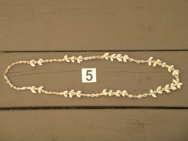 Assorted Cowrie Shell And Conch Seashells Necklaces Seven Styles - You Choose - Bohemian Boho Beach