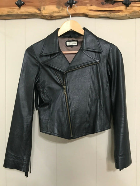 Womens Biker Jacket Small