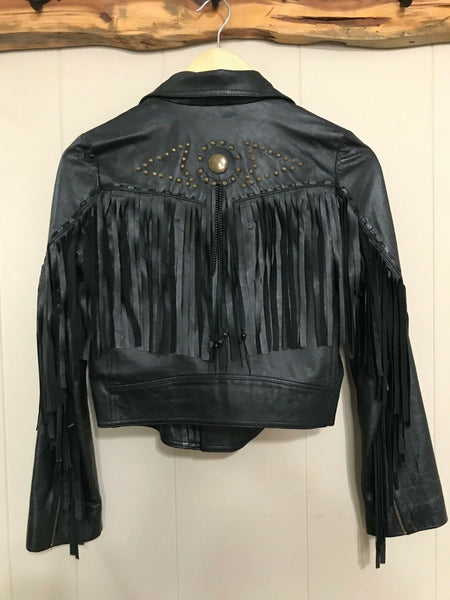 Womens Fringe Jacket