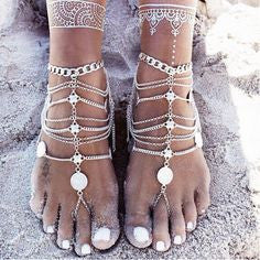 Coins Anklets