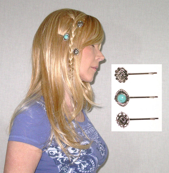 Conchos Bobby Pins