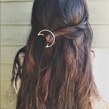 Half Moon Barrette